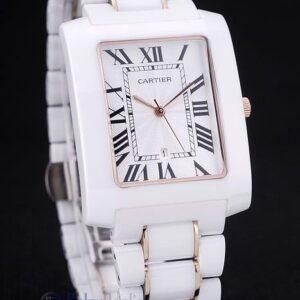 Cartier replica tank americaine ceramic orologio imitazione perfetta