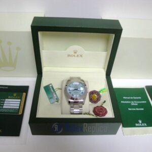 rolex replica daydate ll acciaio sky dial oyster orologio replica copia imitazione