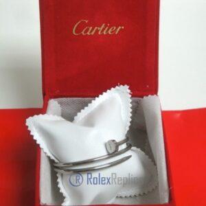 Cartier replica gioiello bracciale juste un clou oro bianco
