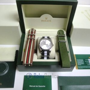rolex replica datejust acciaio argentèè cordura orologio imitazione