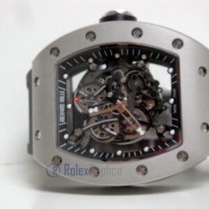 richard mille replica RM61-01 skeletron titanium limited edition strip rubber-b