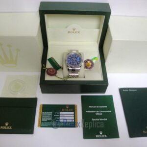 rolex replica sky-dweller acciaio-white gold blue dial orologio replica copia