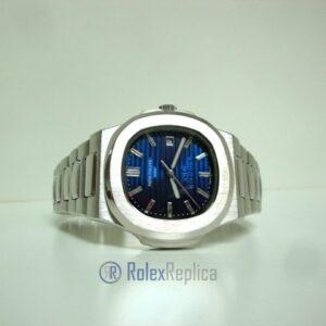 patek philippe replica nautilus blue dial skeletron acciaio 40th anniversary orologio imitazione