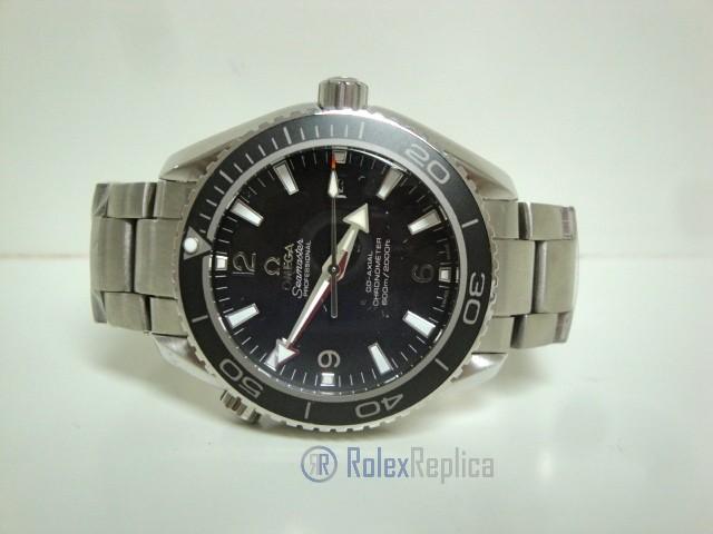 Omega replica seamaster co-axial planet ocean acciaio black dial imitazione copia