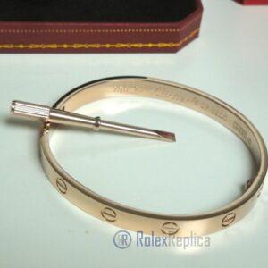 Cartier replica gioiello bracciale love oro rosa