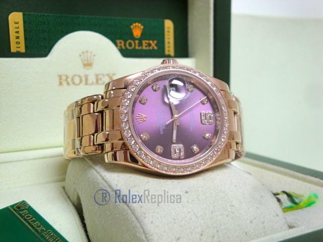 rolex replica pearlmaster rose gold red grape diamond bezel orologio imitazione