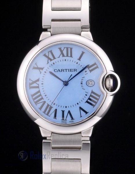 Cartier replica ballon bleu acciaio dial blue orologio imitazione perfetta