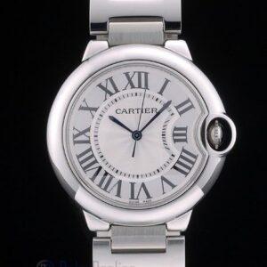 Cartier replica ballon bleu acciaio argentèè dial orologio imitazione perfetta