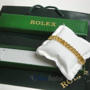 Rolex replica gioielli bracciale jubilèè strip oro giallo
