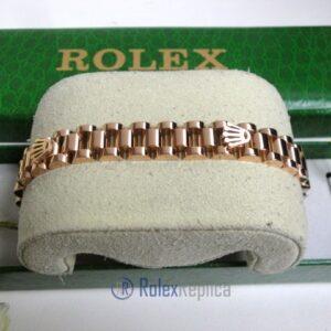 Rolex replica gioielli bracciale jubilèè strip oro rosa