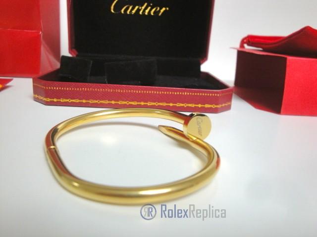 Cartier replica gioiello bracciale juste un clou oro giallo