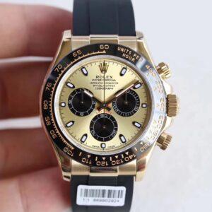 rolex replica daytona new rubber 2017 oro giallo orologio replica copia imitazione
