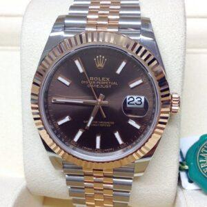 Rolex replica Datejust 41mm 126331 Bi-Colour clone movement