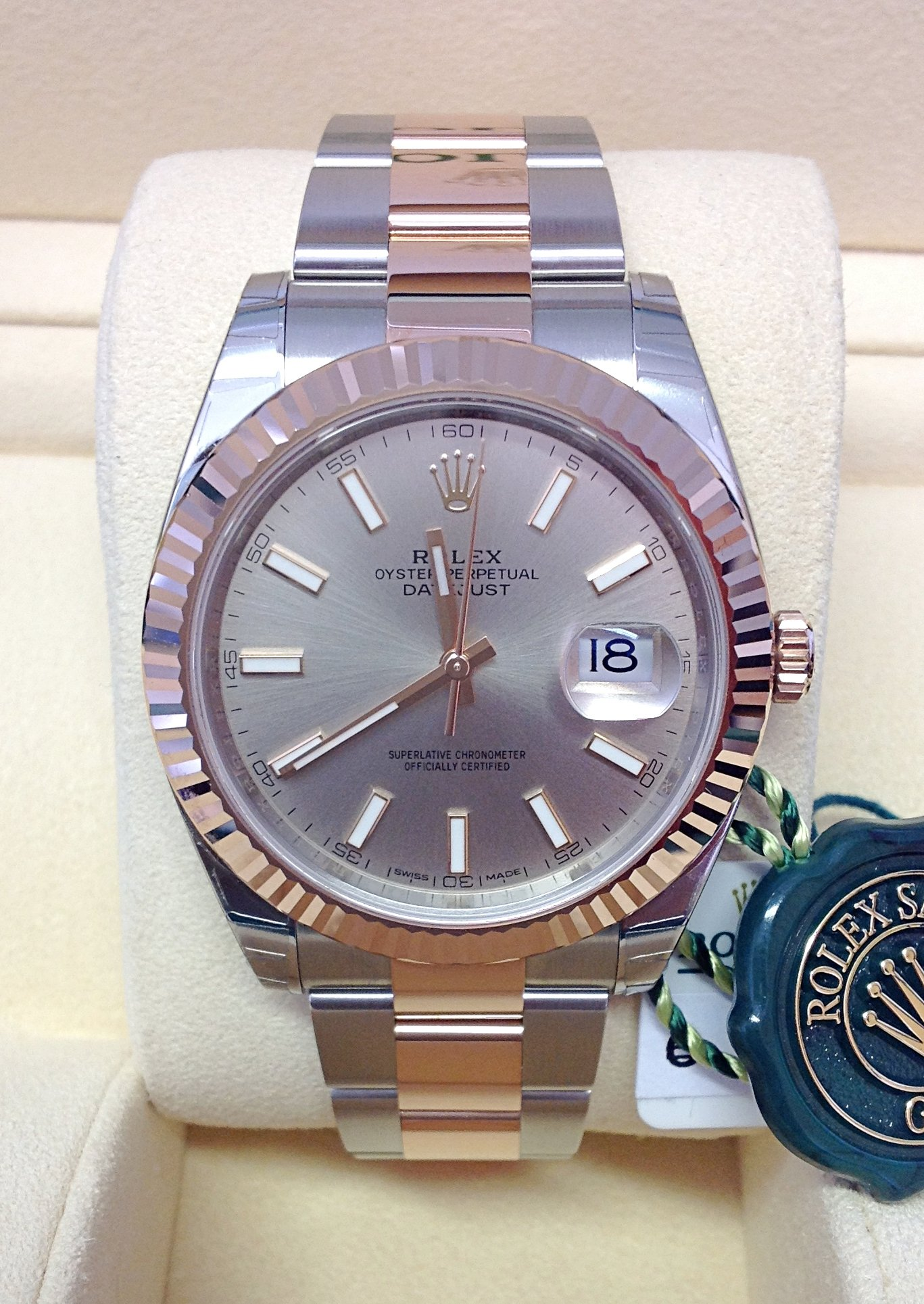 Rolex replica Datejust 41mm 126331 Bi-Colour orologio replica