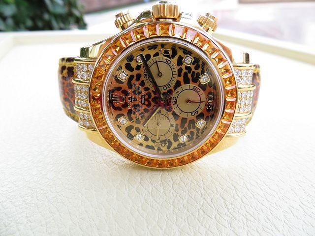 Rolex replica daytona leopard 116598 SACO special edition