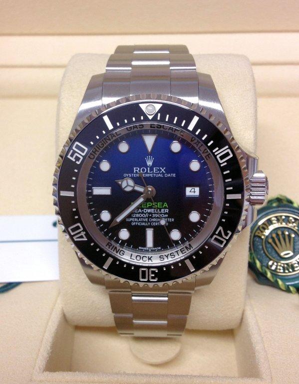 Rolex replica Deepsea Sea-Dweller D-Blue 116660 3135 clone movement