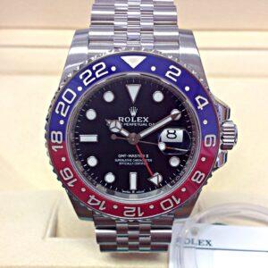 Rolex replica GMT Master II 126710BLRO Pepsi 3285 clone movement