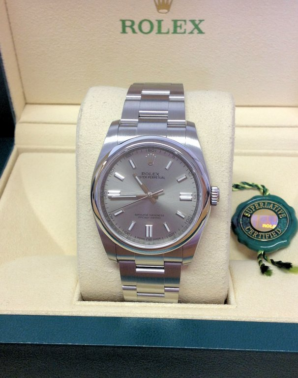 rolex replica datejust acciaio oyster perpetual silver dial orologio imitazione