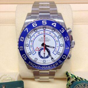 rolex replica yacht-master II 116680 44mm blue ceramichon bezel orologio copia