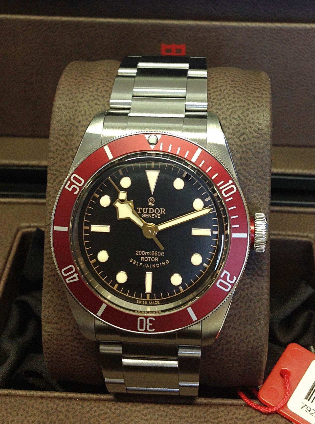 Tudor replica Heritage Black Bay 41mm 79220R