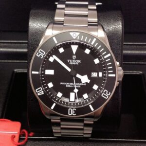 Tudor replica Pelagos 25500TN 42mm Titanium Black Dial