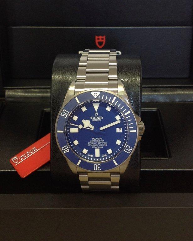 Tudor replica Pelagos 25600TB 42mm Titanium blue dial