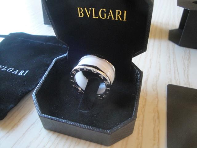 Bulgari replica B.Zero1 gioiello anello ciondolo oro bianco white ceramichon