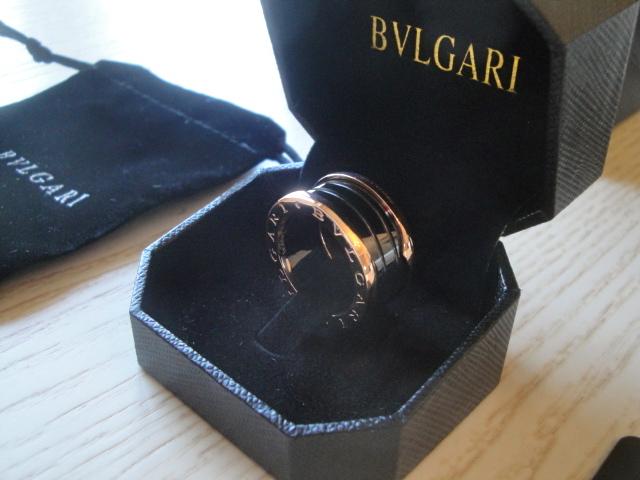 Bulgari replica B.Zero1 gioiello anello ciondolo oro rosa black ceramichon