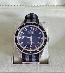 Omega replica seamaster 007 spectre black dial imitazione copia