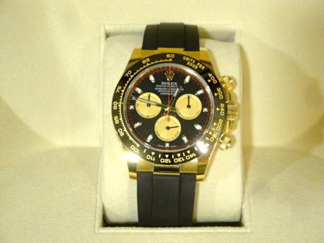 Rolex replica Daytona oysterflex 116518LN Yellow Gold orologio replica