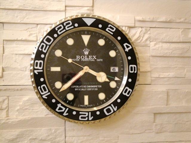 rolex replica da muro GMT master II 116710LN arreda la tua casa o ufficio